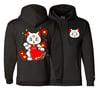 GTSVG X CHAMPION Maneki Artemis Hooded Pullover