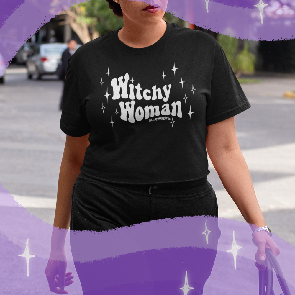 Image of WITCHY WOMAN CROP TEE