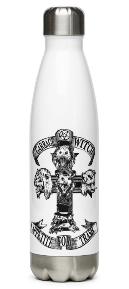 Garbage Witch water bottles, because why not?!?