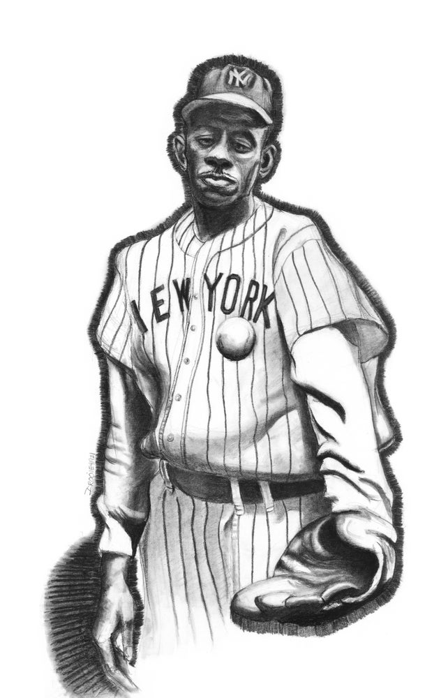 """Image of """"Satchel Paige Comes To New York"""""""