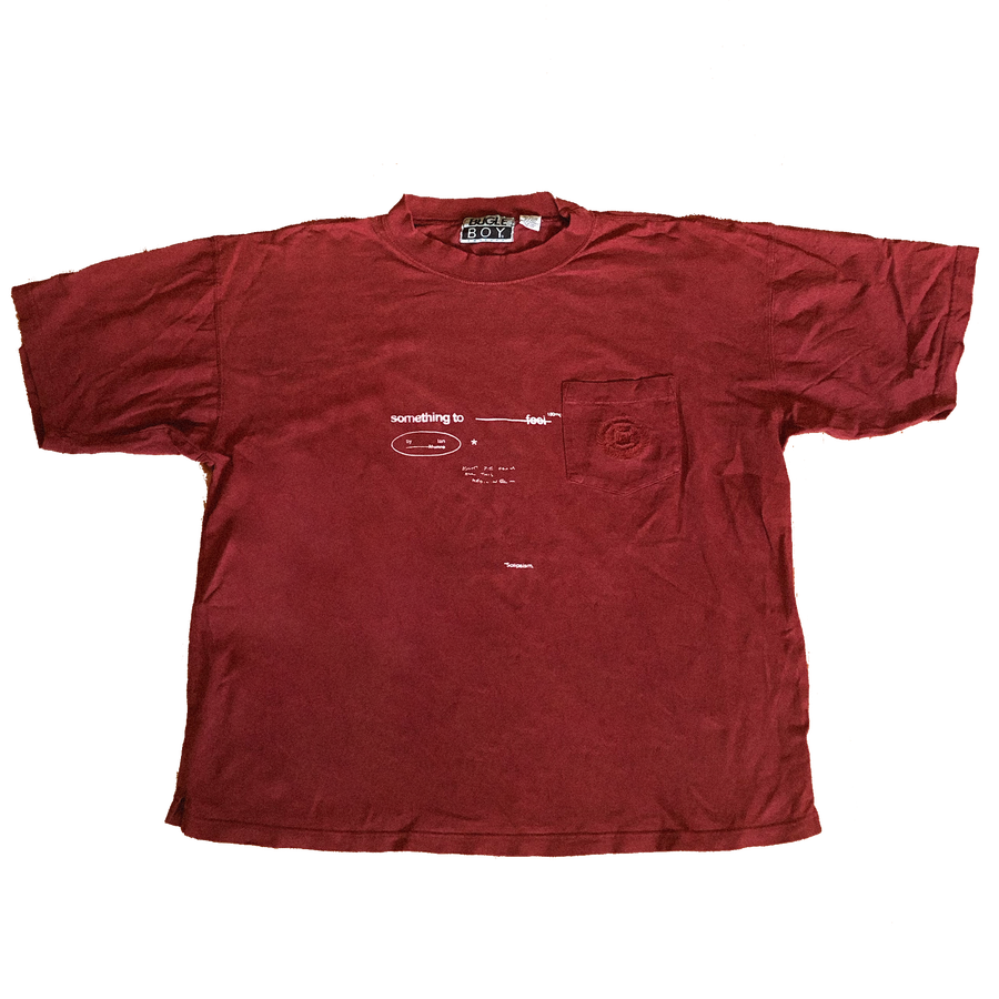 Image of Something To Feel Upcycled: Red – (XL)