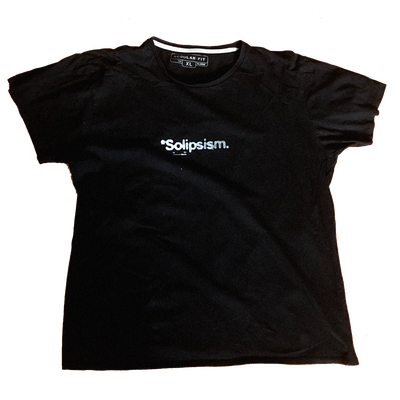 Image of *Solipsism Upcycled: Black – (L/XL)