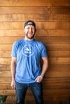 Blue Logo Softstyle T-Shirt