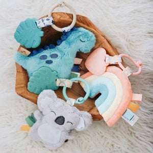 Image of JAMES DINO Itzy Pal Teether Toy