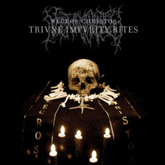 """Image of Necros Christos """"Triune Impurity Rites"""" _2x12"""" LP_Sepulchral Voice"""