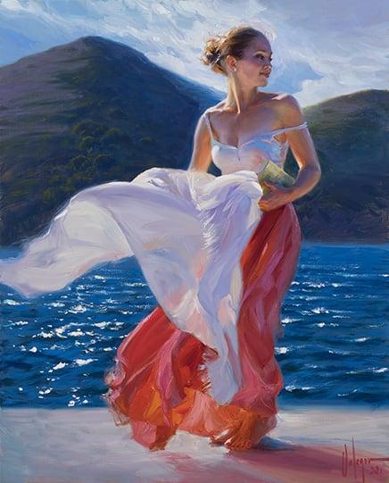 "Image of ""Viento de Levante"", painting."
