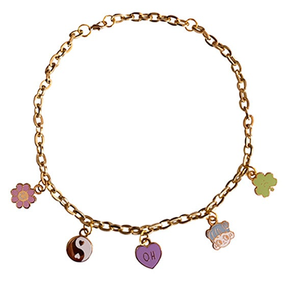Image of Lucky day charms necklace