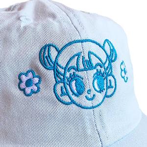 Image of blue cap
