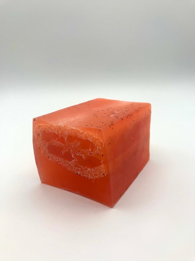I Loofah You!  Mango Soap