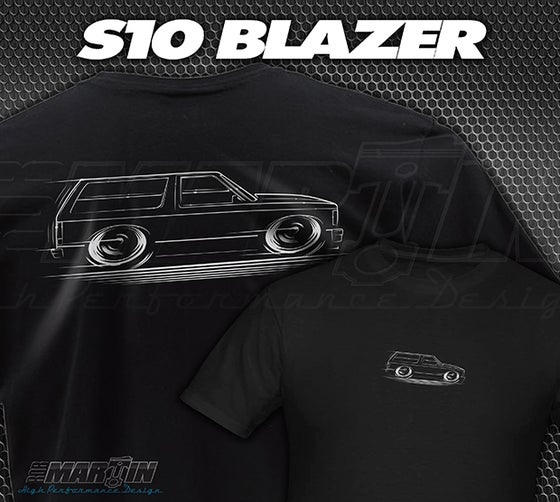 Image of '82-'94 S10 BLAZER / JIMMY T-Shirts Hoodies Banners