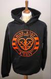 BLACK/ORANGE Mind, Body & Sole Logo Hoodie