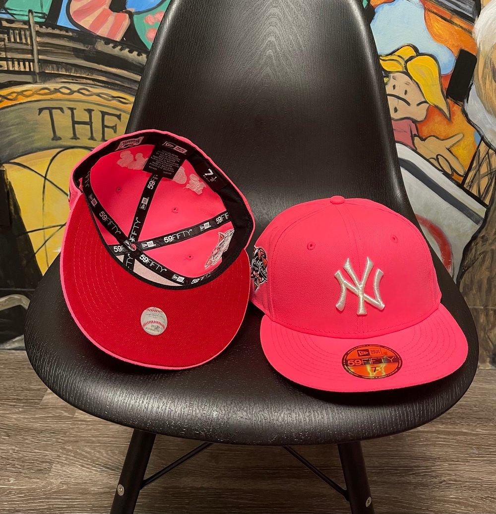 Image of Highlighter Pink Yankee Savior WS 00'-RED BOTTOM
