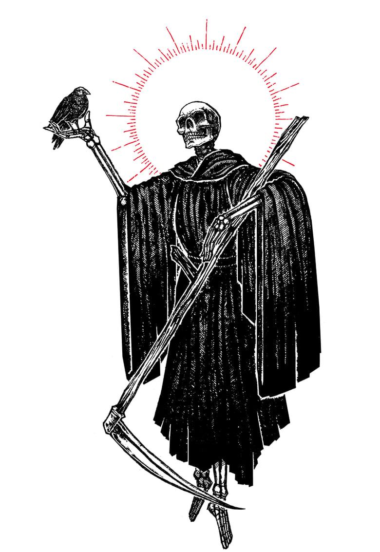 "Image of ""The Reaper"" 8.5""x11"" Watercolor Print"