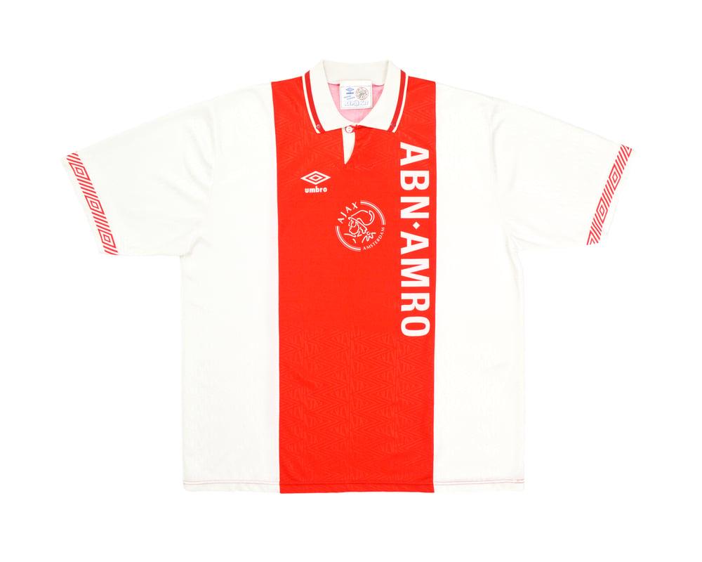 Image of 1991-93 Umbro Ajax Home Shirt XL
