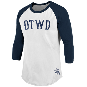 Image of DTWD Shrimp - retro raglan tee