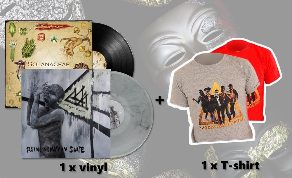 Image of BUNDLE - Vinyl + Shirt