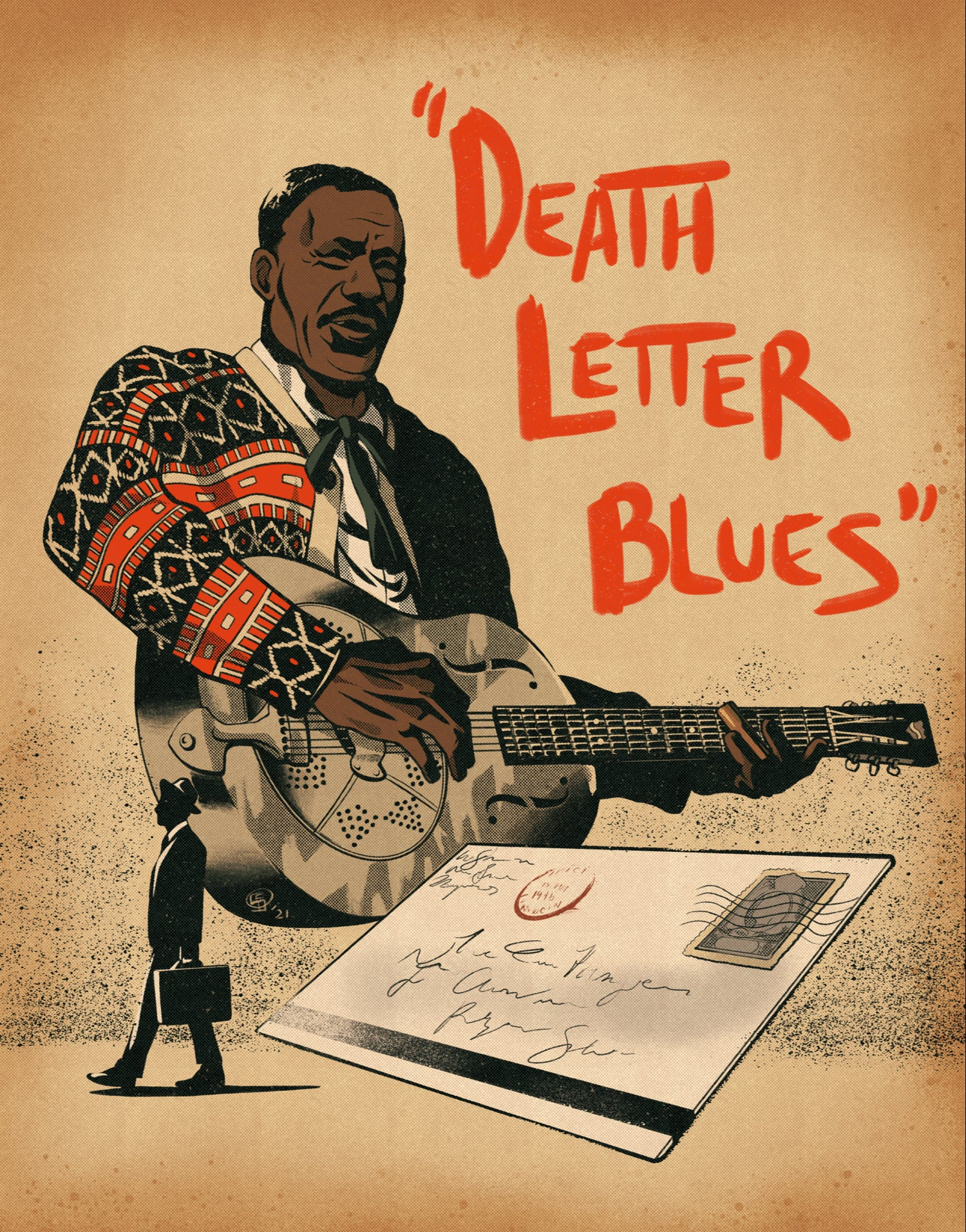 Image of Son House Print