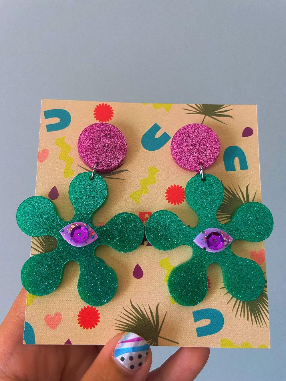 Image of Lisa Flower earrings