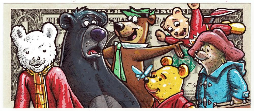 Image of Real Dollar Original. The Bears.