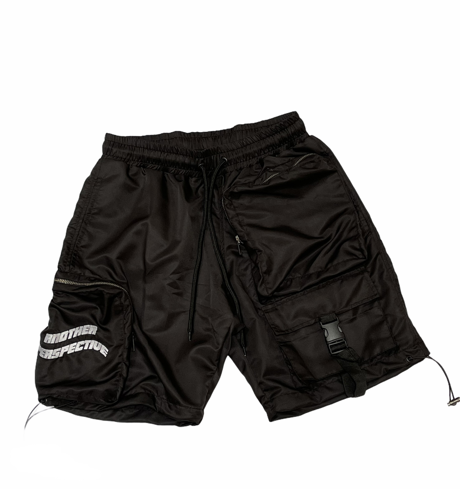 Image of Black Wave-Tech Shorts