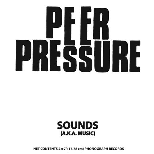 "Image of PEER PRESSURE - Sounds (aka Music) 2x7"""