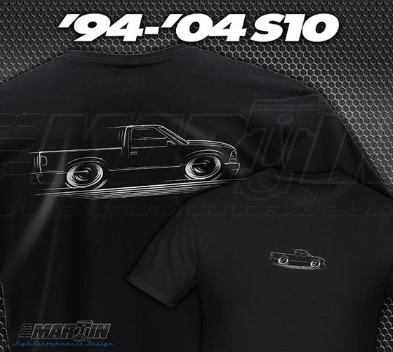 Image of 2nd Gen S10 Truck T-Shirts Hoodies Banners