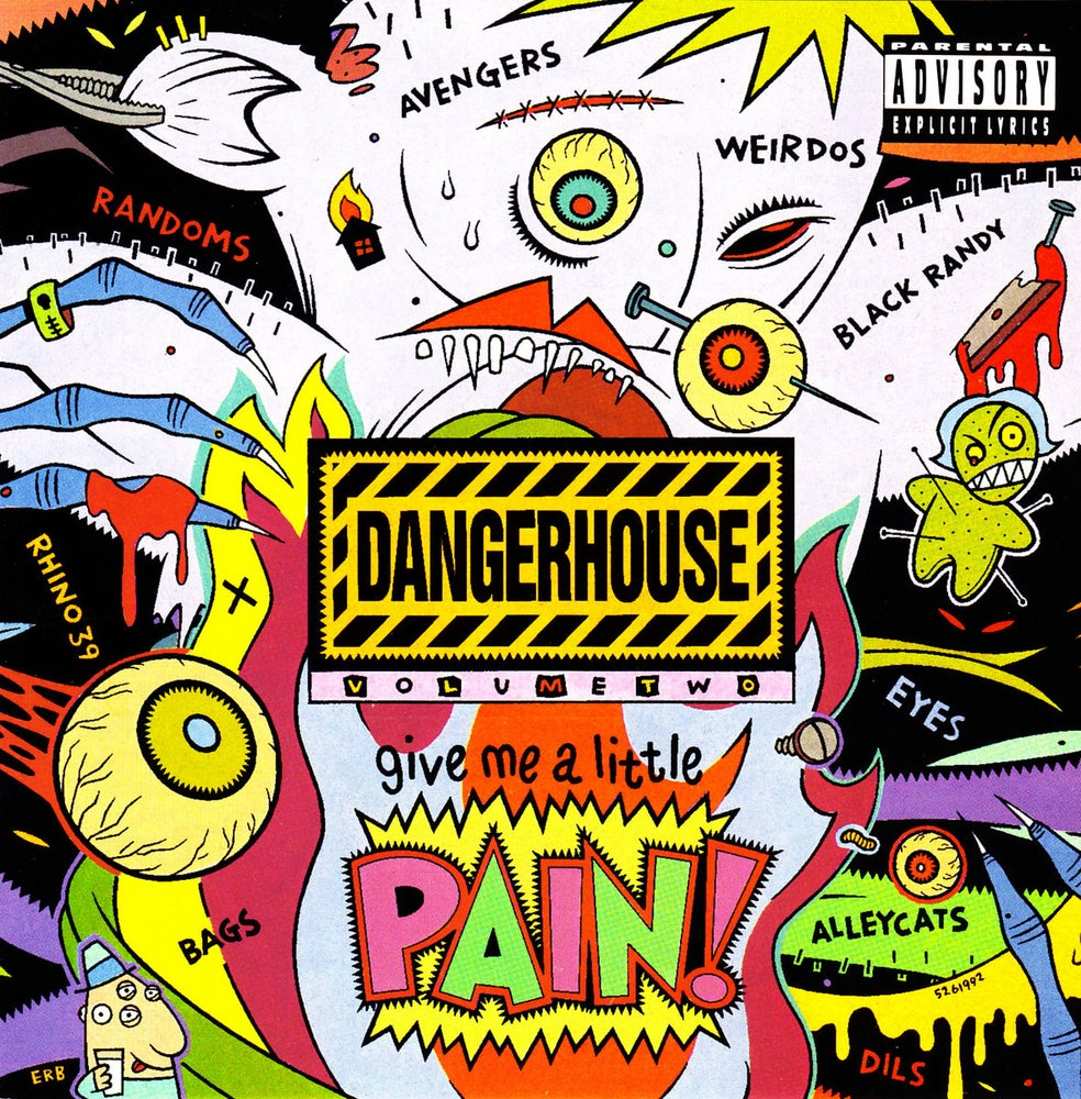 Image of V/A - Dangerhouse Vol. 2 LP