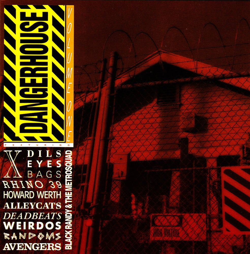 Image of V/A - Dangerhouse Vol. 1 LP