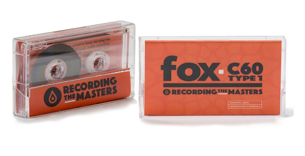 Image of Recording The Masters FOX C60 TYPE 1 Audio Cassettes [Pack of 50]