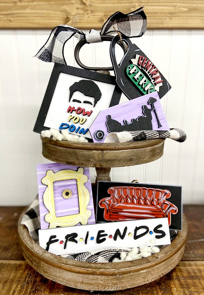 Image of Tiered Tray - FRIENDS