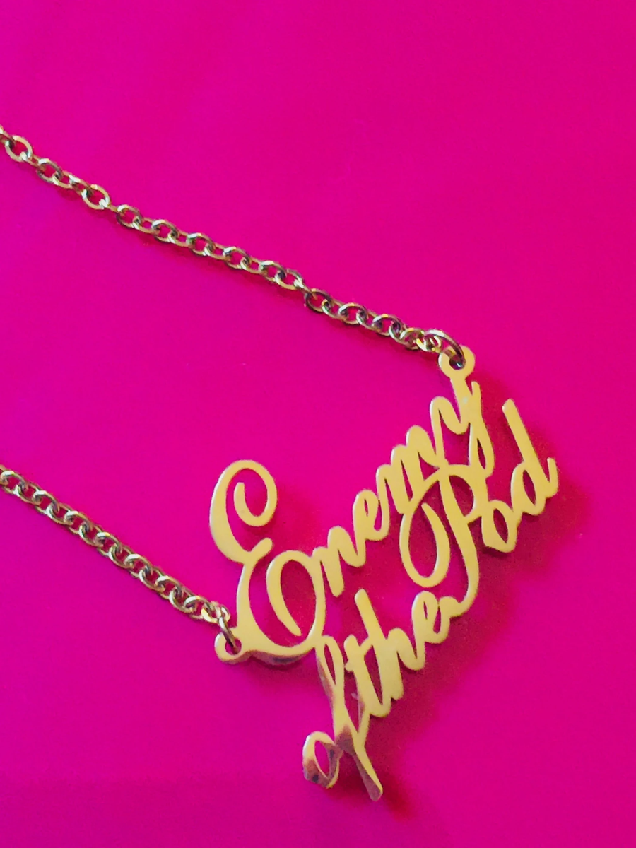 Image of Enemy of the Pod necklace