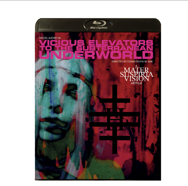 Image of Vicious Elevators to the Subterranean Underworld SIGNED BLU-RAY MASTERDISK A