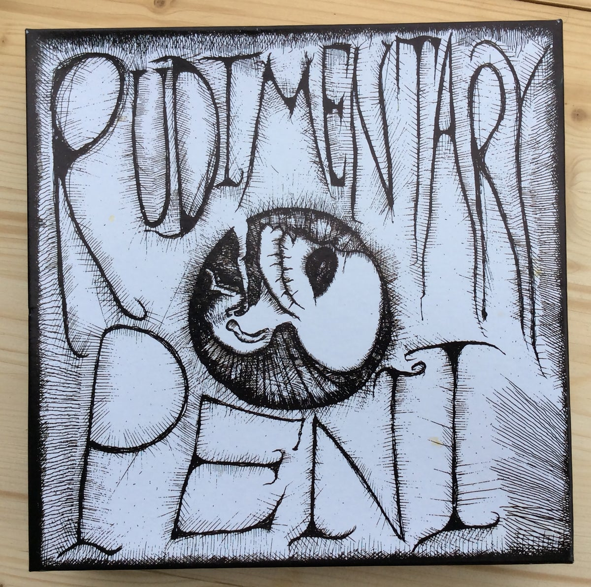 Image of RUDIMENTARY PENI - s/t EP puzzle