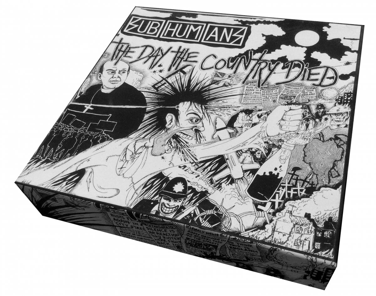 Image of SUBHUMANS - The Day The Country Died puzzle