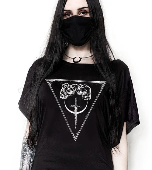 Image of Sword of Damocles Flowy Top