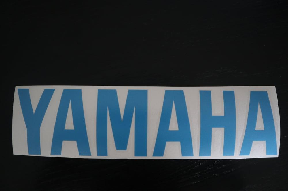 Yamaha Bellypan Decals