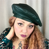 YES MZ: MILITARY LEATHER BERET