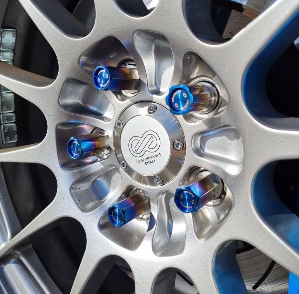 Chasing JS Titanium Extended Closed End Lug Nuts  (M12)