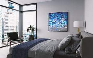 Image of Passion de Undas II - 101x101cm FRAMED