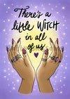 'A Little Witch In All Of Us' art print