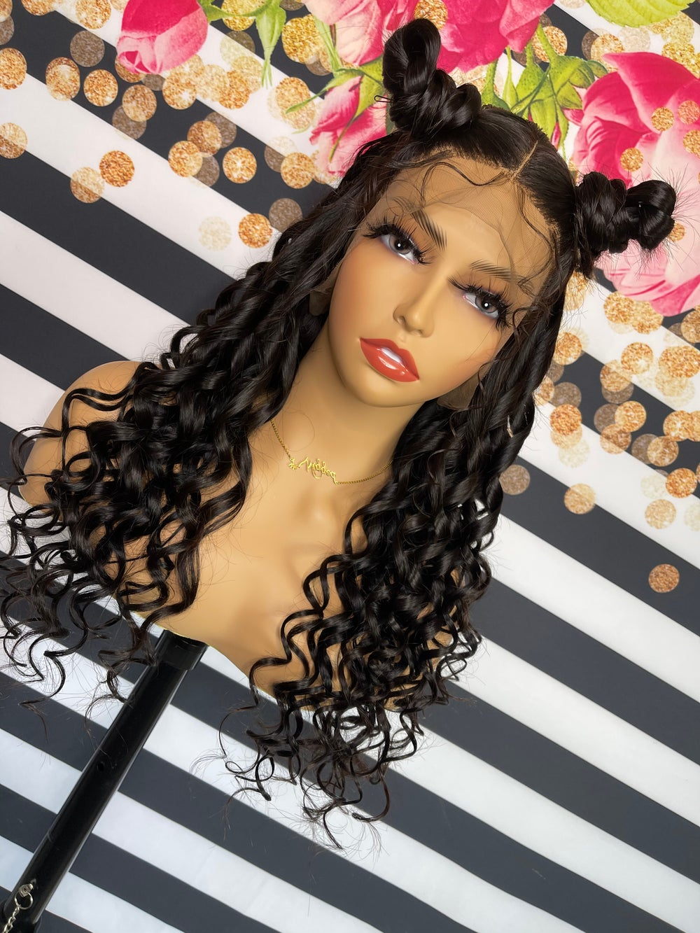 Image of Lace Frontal Straight Wig - 30 inches  - LACED Wig Collection