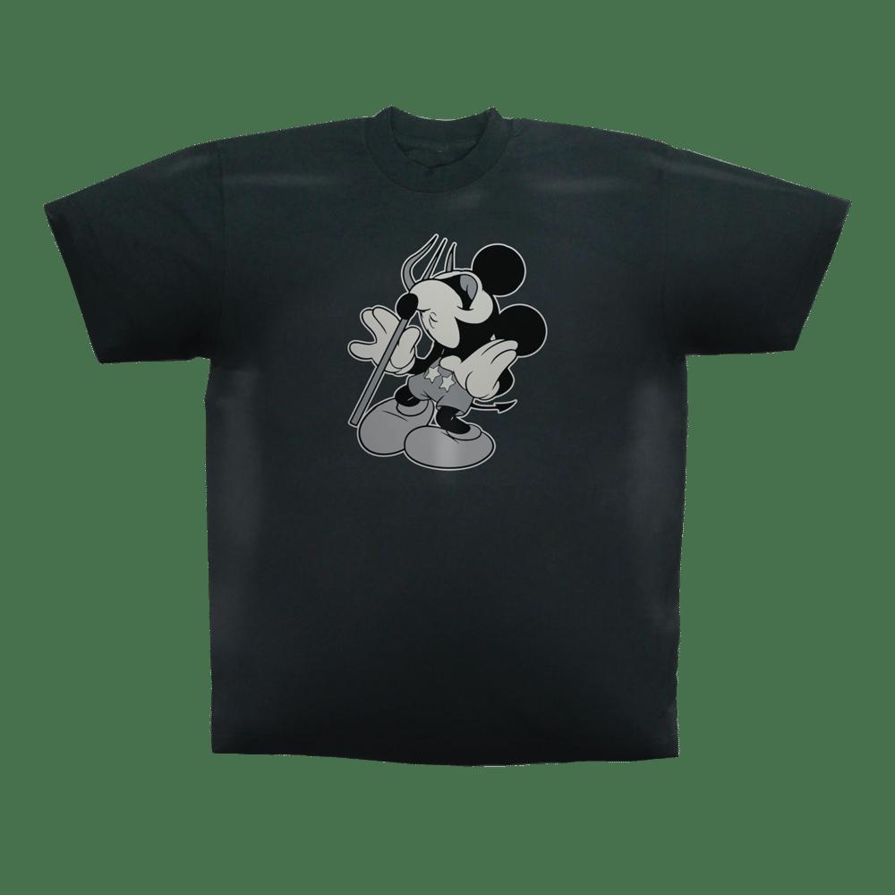 Image of Mad Mouse Devil Tee Black