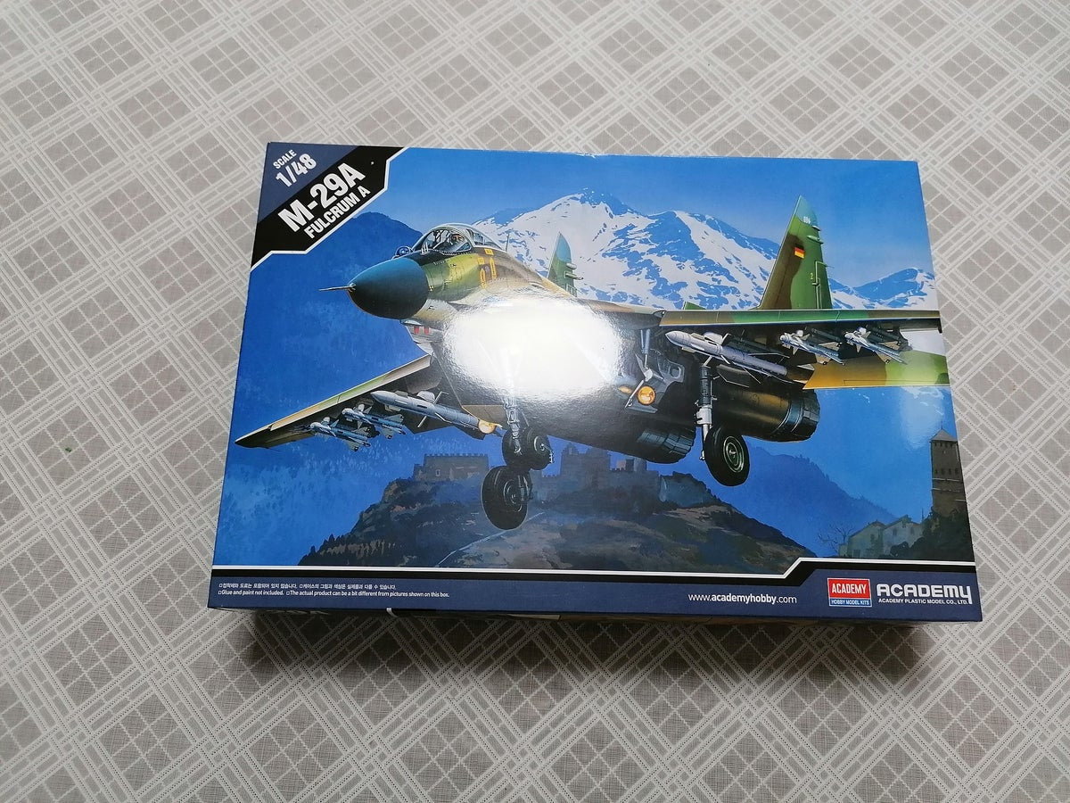 Image of ACADEMY 1/48 M-29A FULCRUM A 12263
