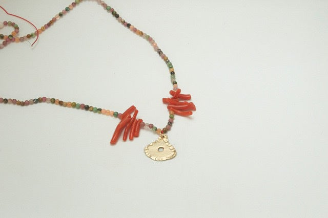 Image of Bahia 9ct gold necklace