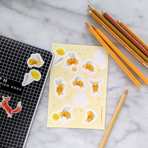 Image of Bee Stickers