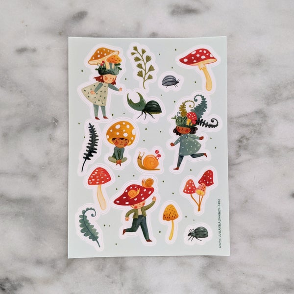 Image of Mossy Friends Stickers