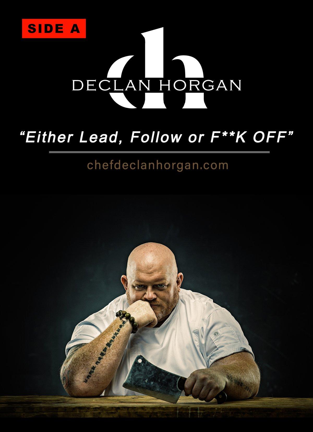Image of Chef Declan: Autograph Postcard