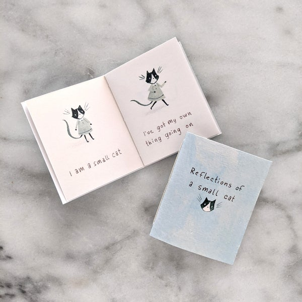 Image of Reflections of a Small Cat Tiny Book