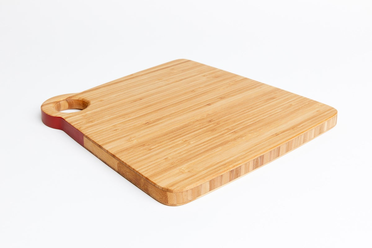 Medium Board- Bamboo/Brick Red