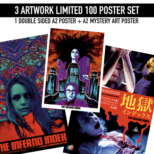 Image of The Inferno Index - Limited 100 -  Poster bundle